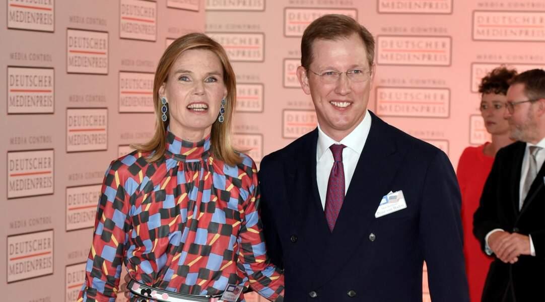 Prince Bernhard de Baden, membre de la famille allemande du prince Philip