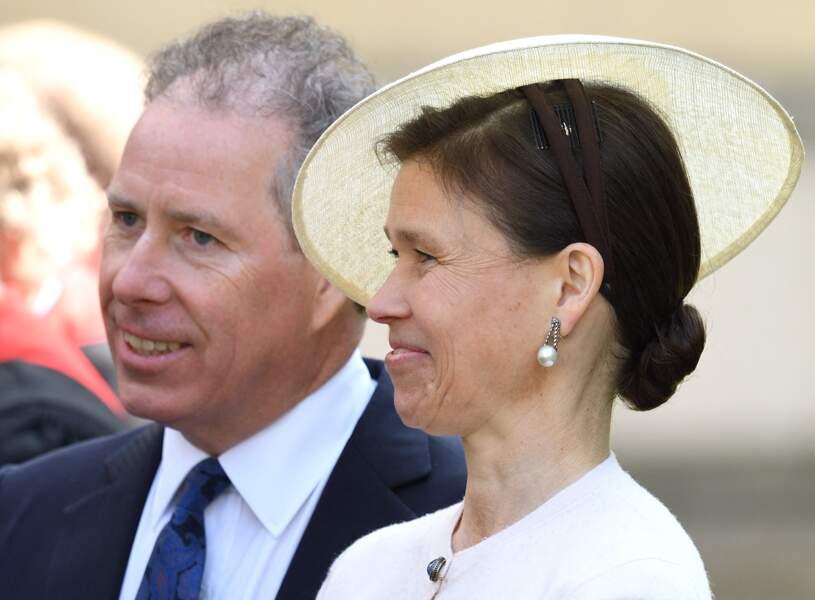 David Linley, neveu d'Elizabeth II, et son épouse Sarah Amrstrong Jones