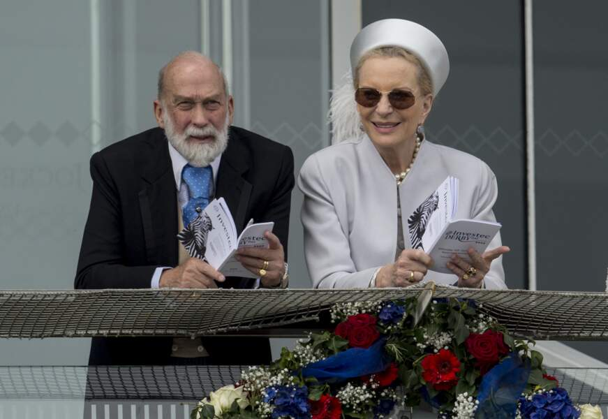 Le prince Michael de Kent (cousin de la reine Elizabeth II) et sa femme la princesse Marie-Christine Michael de Kent