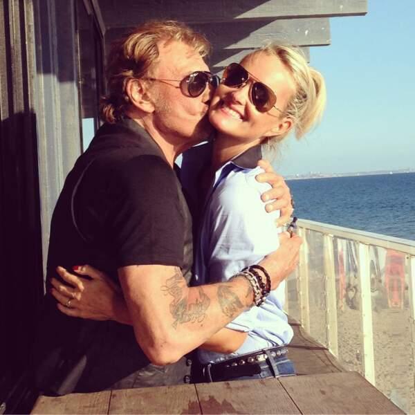 Johnny et Laeticia Hallyday