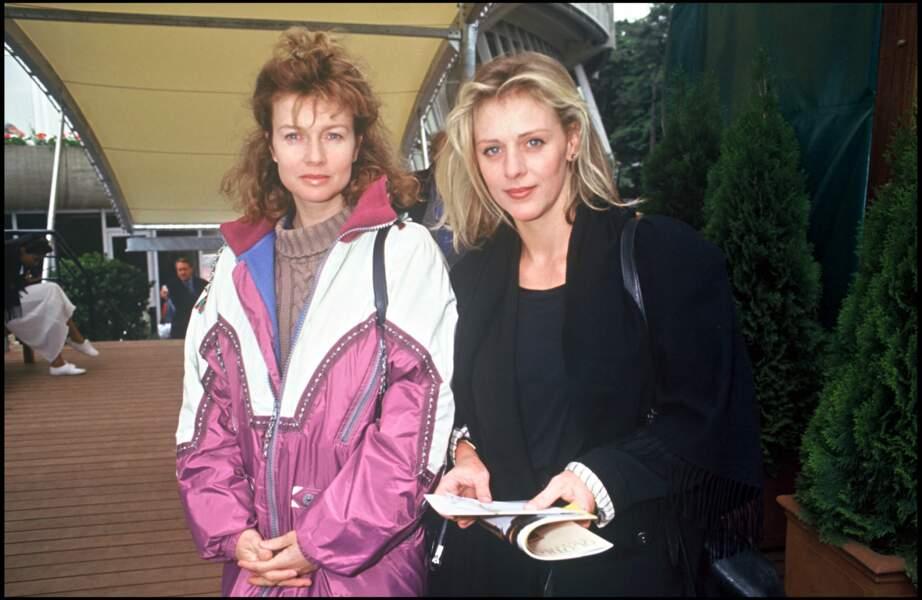 Christiane Jean (à gauche) a joué dans un épisode de Le jour où tout a basculé en 2014