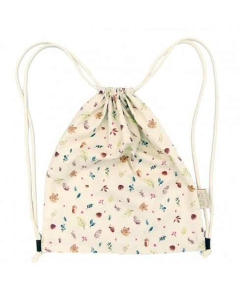 Sac à dos en coton bio pour enfant, Mimi & Cookie, 25,50€