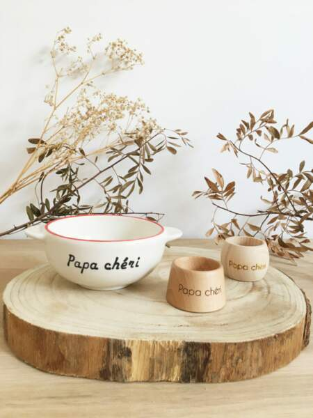 "Coffret ""Papa Chéri"", Maison Rousseau, 54€"