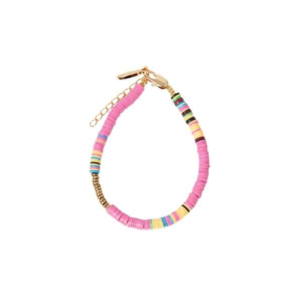 Bracelet Heishi Rose, Allthemust, 50€
