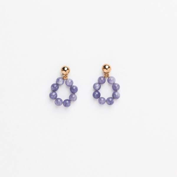 Créoles en perles, Bouclesdoreillesfantaisie.com, 37 €