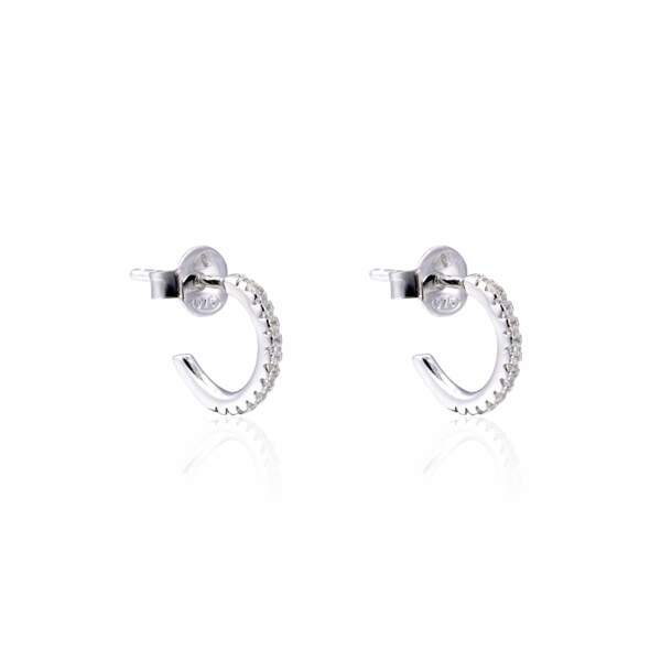 """Mini-créoles """"My Glow"""", Gena Jewelry, 29€"""