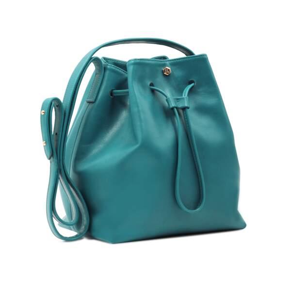 Sac bleu turquoise, Jules & Jenn, 195 €