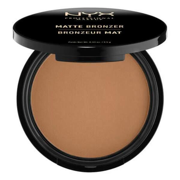 Poudre bronzante visage et corps, NYX, 8,95€