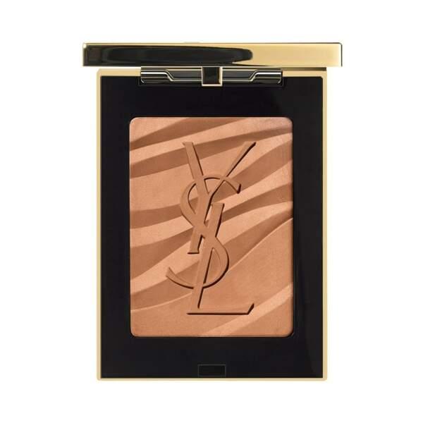 """Poudre bronzante """"Les Sahariennes"""", Yves Saint Laurent Beauty, actuellement à 39,50€ sur Nocibé"""