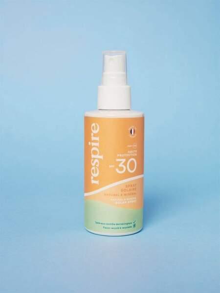 Spray Solaire SPF 30, 23,90 € les 120ml