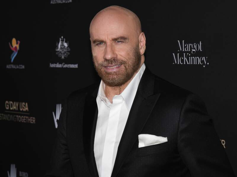 John  Travolta en 2020