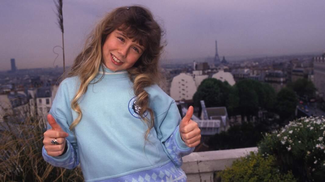 En 1989, Nathalie Pâque chante J'ai volé la vie. Elle a 60 points et est 8ème