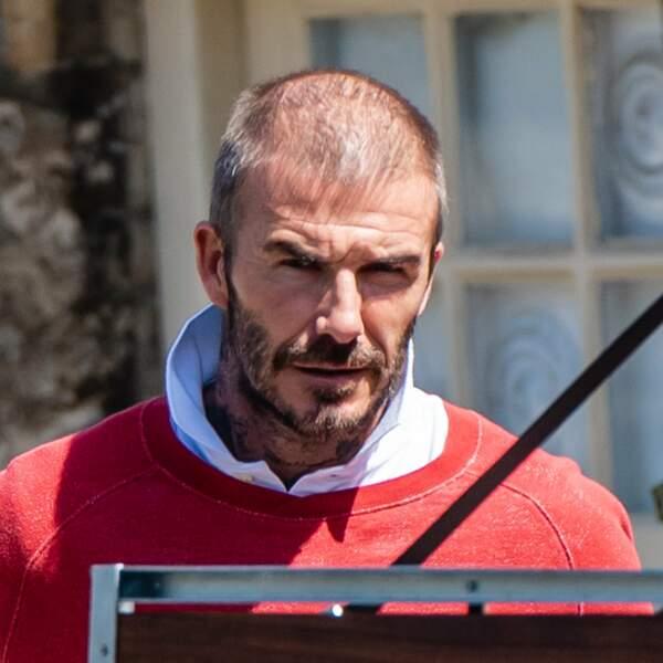 David Beckham avant