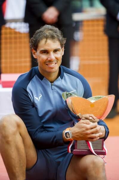 Rafael Nadal avant