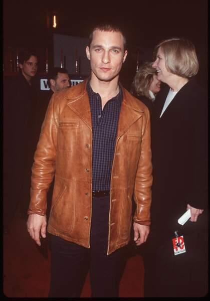 Matthew McConaughey avant
