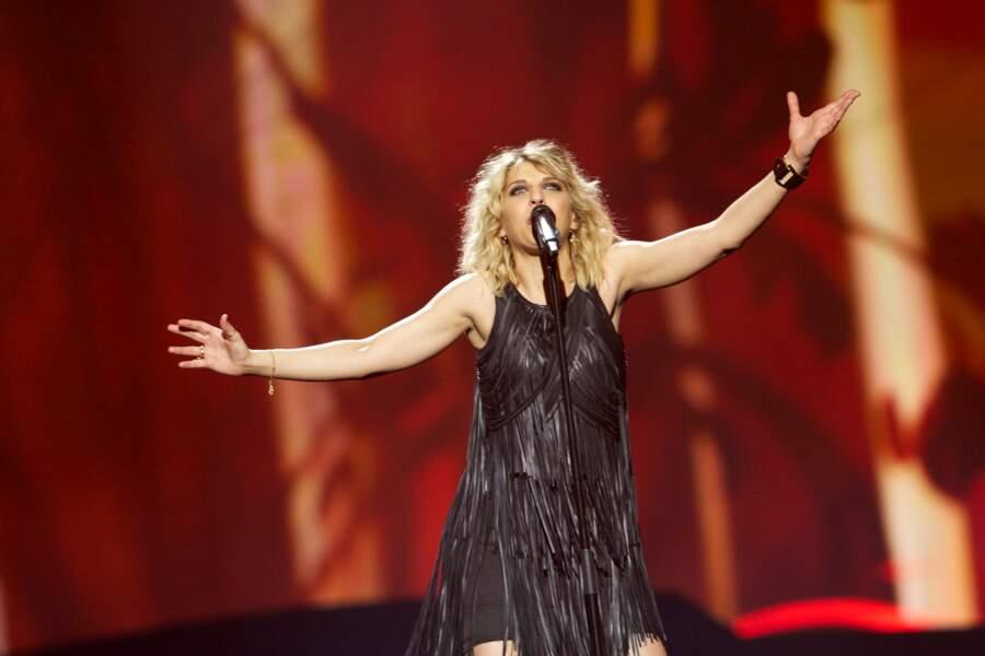 Amandine Bourgeois n'était pas la Nouvelle Star de l'Eurovision. L'enfer et moi en 2013 a recueilli 14 points , elle s'est classée à la 23ème place