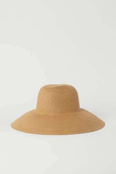 Chapeau de paille, H&M, 14,99€