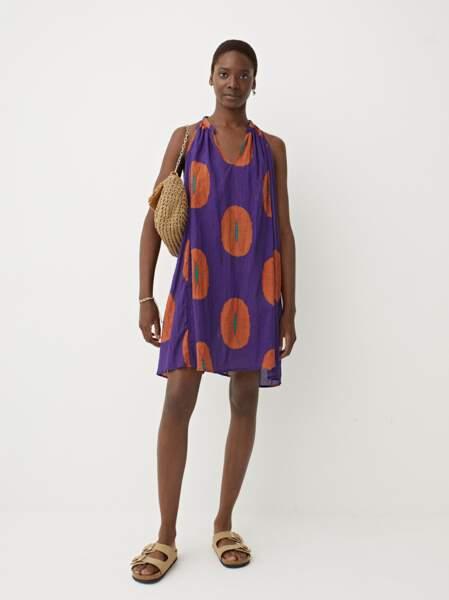 Robe à imprimé, Parfois, 29,99€