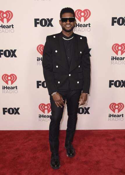 Usher aux iHeartRadio Music Awards 2021