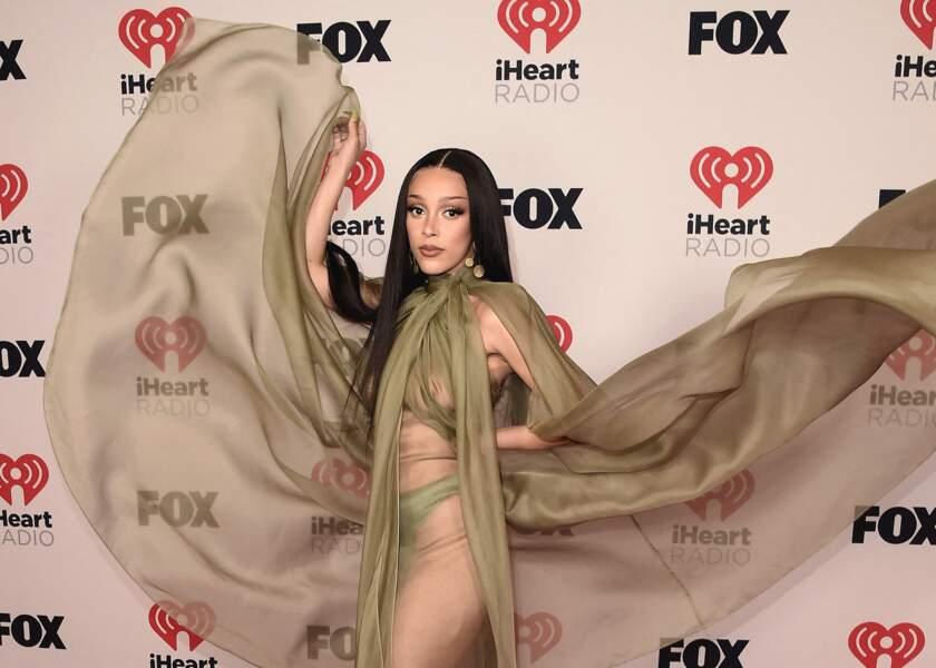 Doja Cat aux iHeartRadio Music Awards 2021