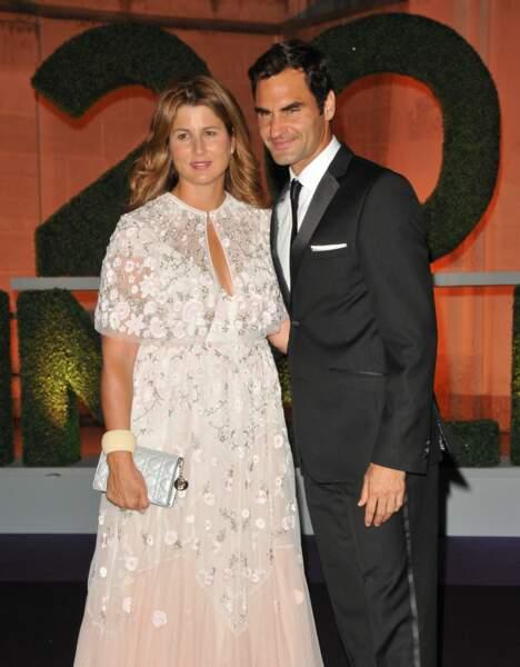 Roger Federer et sa femme Mirka
