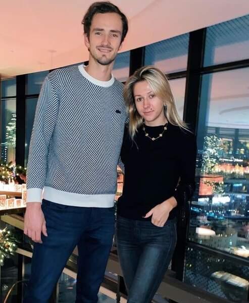 Daniil Medvedev et Daria