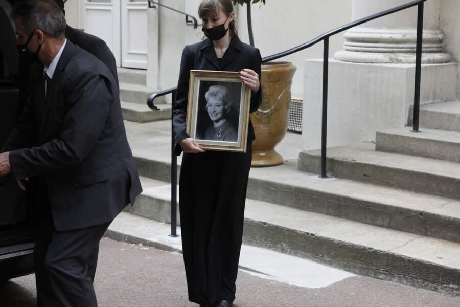 Obsèques de Jacqueline Caurat, le 2 juin 2021