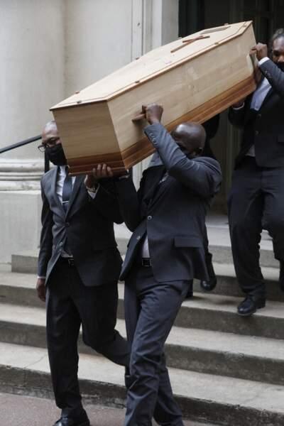 Obsèques de Jacqueline Caurat en l'église Notre-Dame de l'Assomption de Passy à Paris