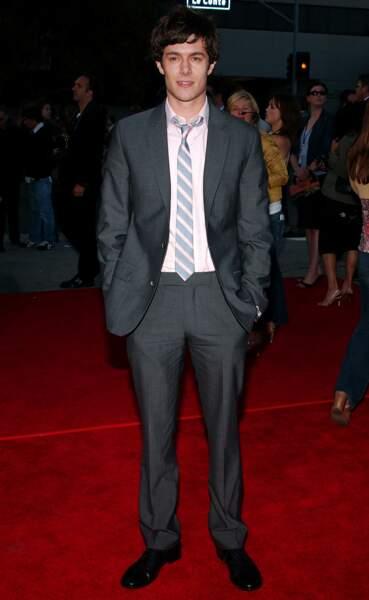 Adam Brody aka Seth Cohen avant