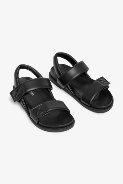 Sandales similicuir, Monki, 35 €