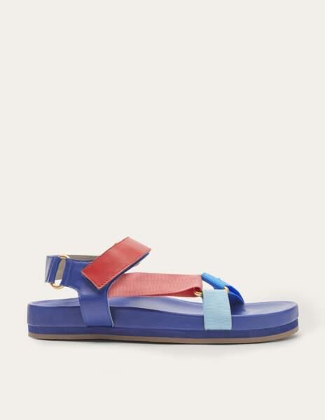 Sandales multicolores, Boden 98 €