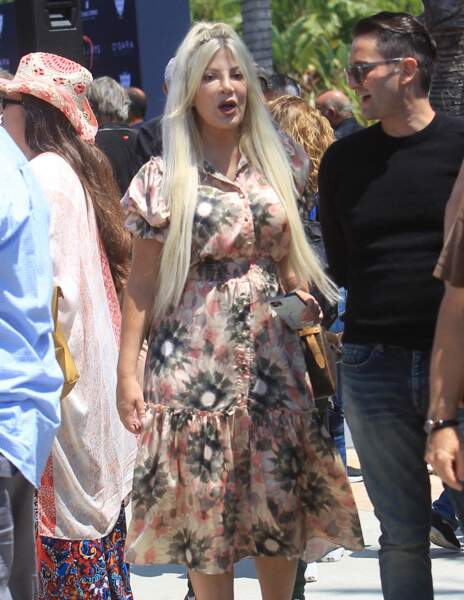 Tori Spelling à Beverly Hills