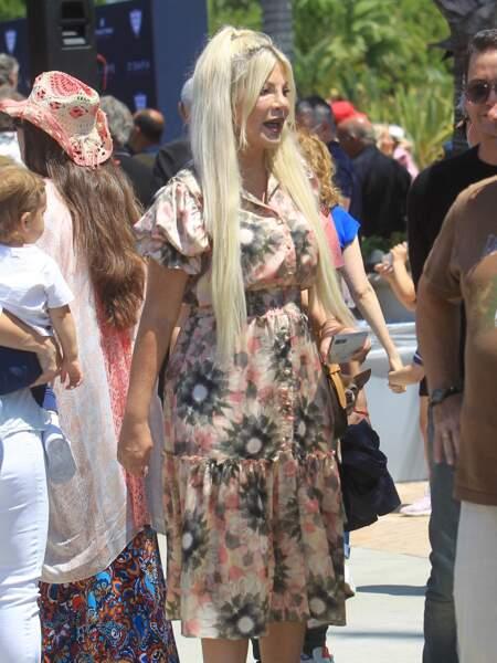 L'actrice de Beverly Hills a choqué ses fans