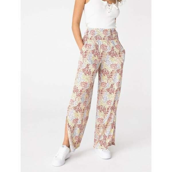 Pantalon fluide Imprimé éco-responsable, Bizzbee, 35,99€