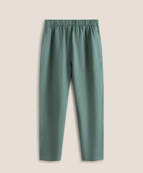 Pantalon en lin, Oysho, 29,99 €