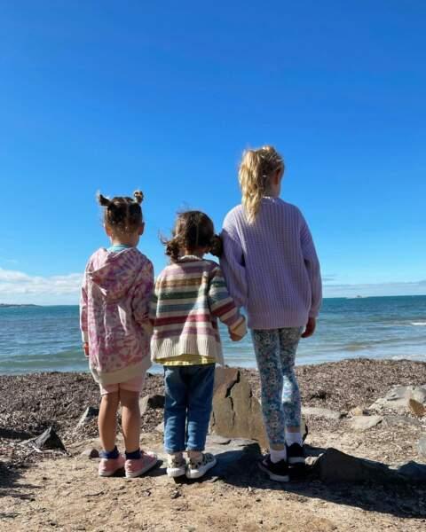 Les trois filles de Jamie Dornan, Dulcie, Alberta et Elva,