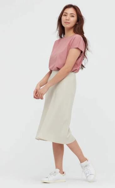 T-Shirt en coton, Uniqlo, 12,90€