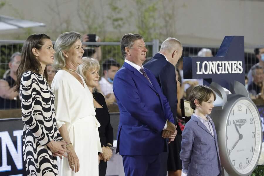 La famille princière de sortie ce week-end du 3 juillet