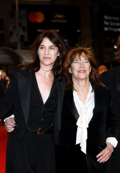 Charlotte Gainsbourg et sa mère Jane Birkin