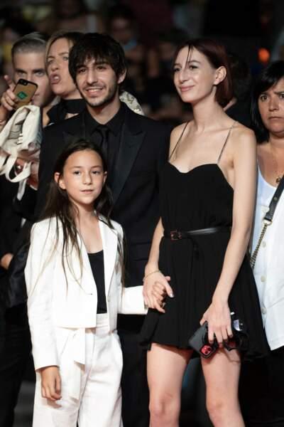 Ben, Alice et Joe Attal, enfants de Charlotte Gainsbourg et Yvan Attal