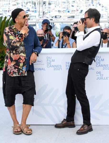 Photocall de Cette musique ne joue pour personne pendant le 74ème Festival de Cannes, le 10 juillet 2021