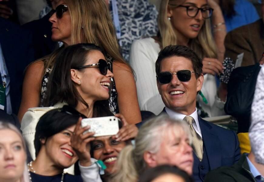 Tom Cruise et Hayley Atwell à Wimbledon