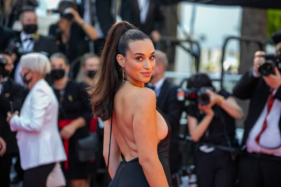 Camelia Jordana au Festival de Cannes