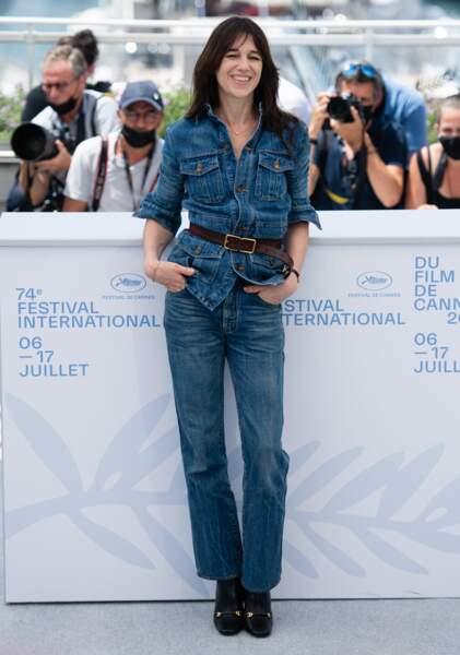 Charlotte Gainsbourg à Cannes