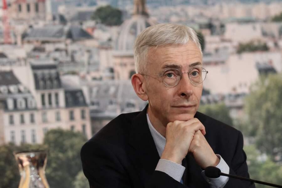 Didier Lallement, préfet de police de Paris, nommé commandeur de la Légion d'honneur, 14 juillet 2021