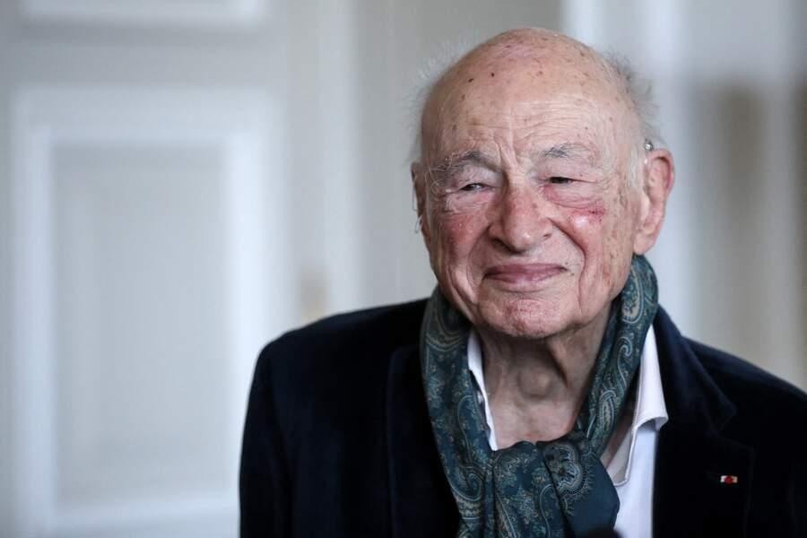 Le sociologue et philosophe Edgar Morin nommé grand-croix de la Légion d'honneur, 14 juillet 2021