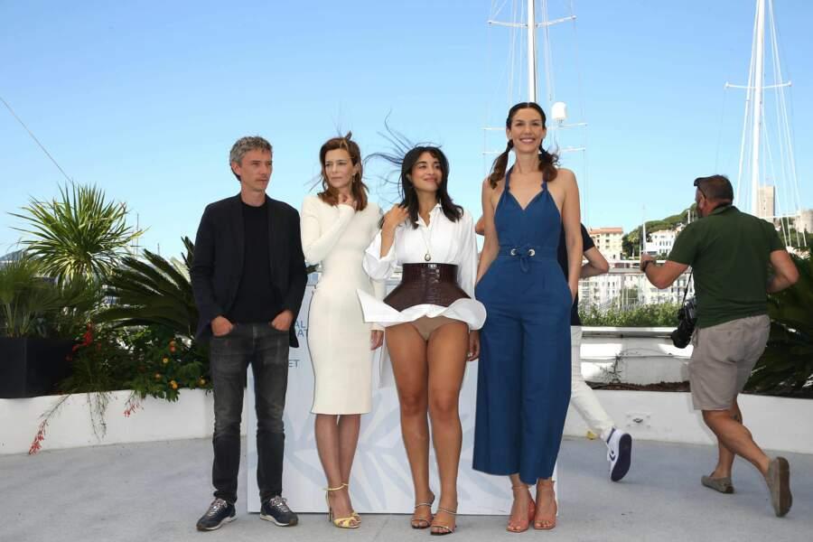 Camélia Jordana victime d'un accident de robe à Cannes