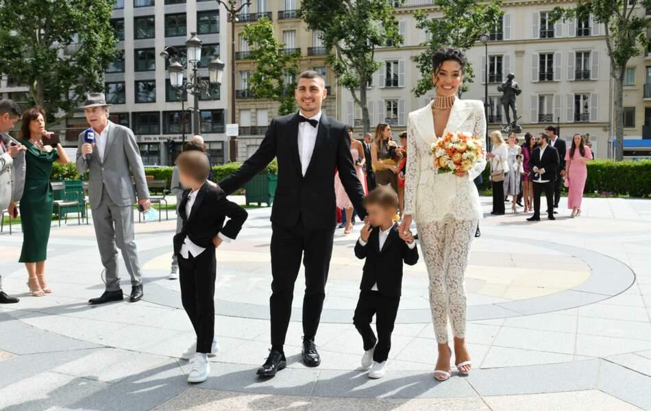Marco Verratti et Jessica Aïdi, la casteuse des Marseillais, se sont mariés
