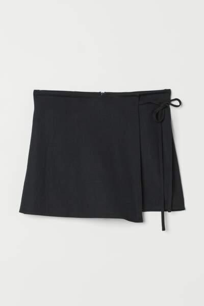 Jupe-short, H&M, actuellement à 15,99€
