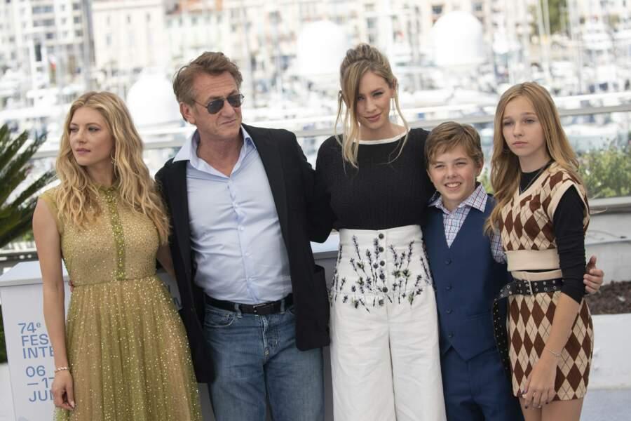 Hazel et son père ont assisté à la première du film Flag Day
